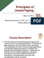 Principles of KinesioTaping 2014