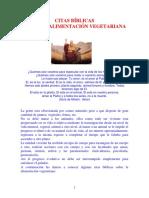 Citas Biblicas Sobre La Alimentacion Vegetariana