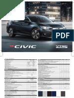 Ficha Técnica Civic