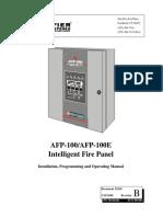 Manual Central de Incendios Edificio 43 Notifier AFP-100