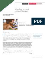 Subclinical Rickettsial Disease TREATMENT