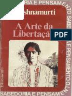 A arte da libertação - J Krishnamurti.pdf