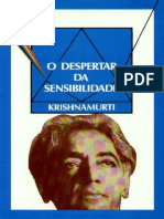O despertar da sensibilidade - Krishnamurti.pdf