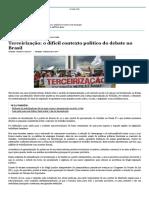 Terceirização_ o difícil contexto político do debate no Brasil_Sidnei Machado.pdf