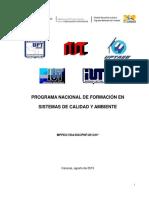 Diseno Oficial Pnf Sistemas de Calidad y Ambiente 2013