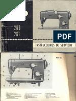Manual Pfaff 260