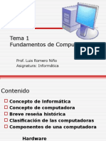 Profesor Luis Romero Clase 1