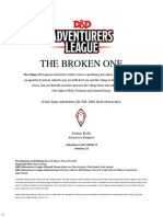 [D&D 5th] DDAL04-08 the Broken One (League Adventure)