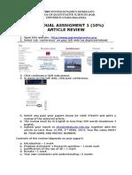 Article Review SEM A132