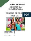 Plan de Trabajo Consejo EE.GG.LL. 2016/2017