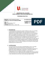 Syllabus Taller Transdisciplinar Revisado