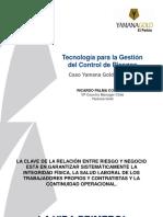 3_Tecnologia Para La Gestion Del Control de Riesgos - Yamana - R.palma