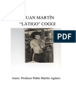 """Juan Martín """"Látigo"""" Coggi  (Libro Por Pablo Martín Agüero)"""