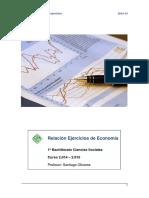 Ejercicios Economia 14 - 15