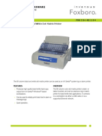 21h4b11b4 80-Column Black and White Dot-Matrix Printer