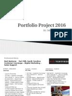 portfolio project 2016