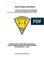 Program Kerja Kaprodi TAV