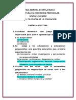 Cuestionario-cartas a Cristina