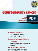 k12 Bedah Genitourinary Cancer