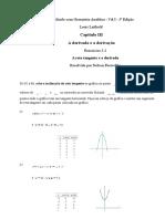 Cap III - O Cálculo Com Geometria Analítica - Vol I - 3ª Edição - Ex 3.1