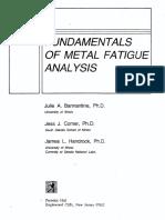 269549729 Fundamentals of Metal Fatigue