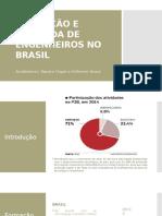 Formação e Demanda de Engenheiros Civis No Brasil