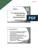 Musculos Respiratorios 2011