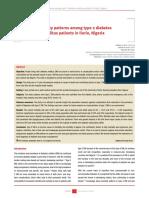 Mortality Patterns Among Type 2 Diabetes