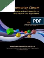 GridComputingCluster-Report2009