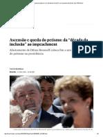 """Ascensão e Queda Do Petismo_ Da """"Década Da Inclusão"""" Ao Impeachment _ Brasil _ EL PAÍS Brasil"""