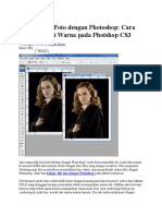 Belajar Edit Foto Dengan Photoshop
