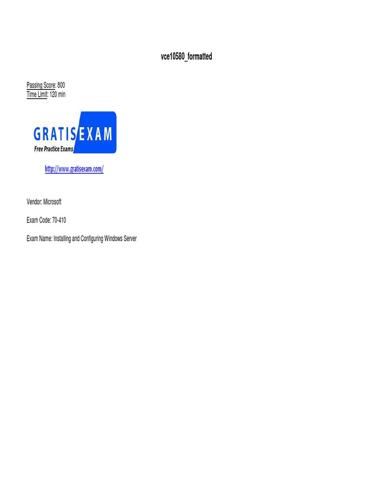 Gratisexamcom Microsoftdumps70 410v2015 09 10byali273q Currentshunt Amplifier Circuit Diagram Tradeoficcom 10byali273qpdf Hyper V Group Policy