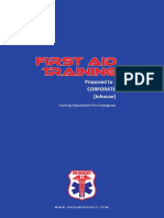 Proposal First Aid Training 2016 - Pro Emergency
