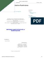 Enfoque Cuantitativo-Positivismo.pdf