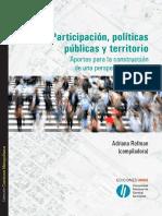 Participacion, Politicas Publicas y Territorio_Web