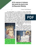 Carmen Cecilia Solomonea - Manastirea Moldovita