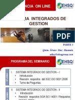 Seminario on Line Sig Parte 1 08 Junio 2014