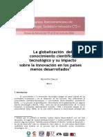 La Globalización Del Conocimiento Científico-tecnológico