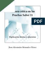 Lectura Crítica en Las Pruebas Saber 11 Jhon Alexánder Monsalve Flórez