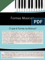 Formas Musicais Slides