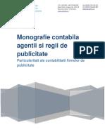 Monografie Contabila - Agentie Publicitate Regie de Publicitate Servicii de Publicitate