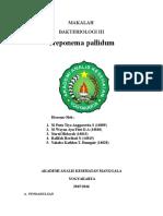 Makalah Treponema Pallidum