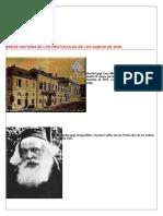 Breve Historia de Los Protocolos de Los Sabios de Sion