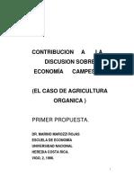 Contribución a la Discusión Sobre Economía Campesina
