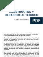 Conclusiones Constructos y Desarrollo Teórico