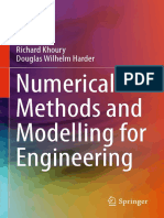 Numerical Methods and Modelling