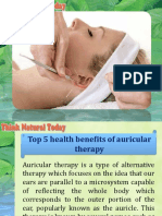 Top 5 Health Benefits of Auricular Therapy