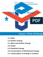 Chapter 3 Work and Energy Pham Hong Quang