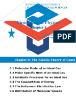 Chapter 8 Kinetic Theory of Gas