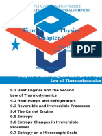 Chapter 9 the Second Law of Thermodynamic